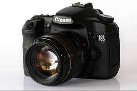 canon 40D professional.