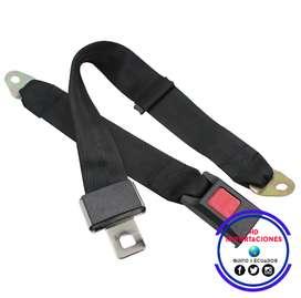 Cinturón De Seguridad Manual De 2,3 Y 4 Puntos Y Con Carrete