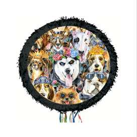 piñata temática perros