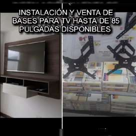 Hacemos instalaciones de soportes para toda marca de televisores