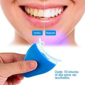 Blanqueador dental Luz Led quita manchas