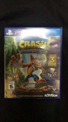 Crash Bandicoot trilogy N sane