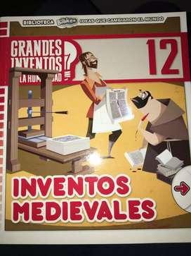 Revista Grandes inventos medievales