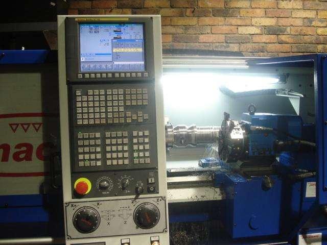 Torno CNC Pinacho MUSTANG SK 225X1.000  Control numérico FANUC Oi TC 0