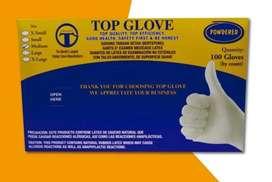 Caja de guantes S