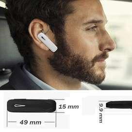 Auricular Bluetooth inalámbrico ideal para conductor de carro y moto. EN OFERTA