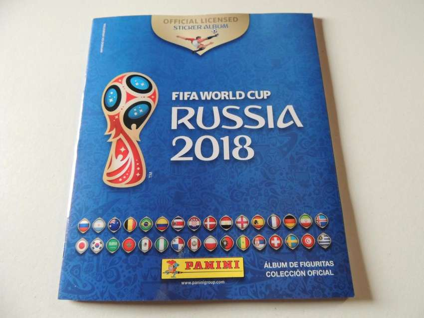 FIGURITAS MUNDIAL RUSIA 2018 PANINI 0