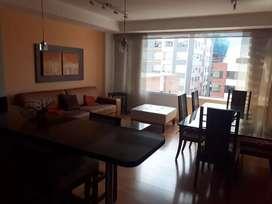 República Salvador arriendo departamento AMOBLADO 2 dormitorios