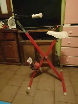 Bicicleta fija reforzada