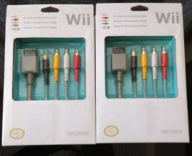 Cables Audio y video  Nintendo Wii