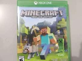 Vendo juego Minecraft Xbox One edition