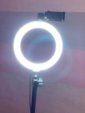 Aro de luz, excelente iluminación