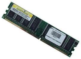 Memorias DDR, DDR2 y DDR3 para PC o Portatil