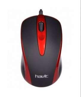 Mouse optico alambrico Havit