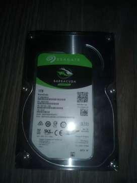 Disco Sata para PC de 1 terabytes oportunidad