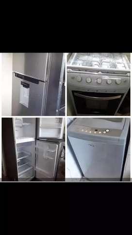 Se vende combo de electrodomésticos.