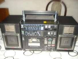 Minicomponente Vintage Sony Japones Cfs9000 Exc Sonido 1984