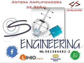Antena Amplificadora de Señal (Precio a Consultar)