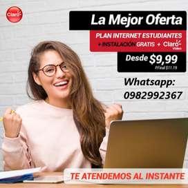 LA MEJOR OFERTA  - INTERNET ILIMITADO!