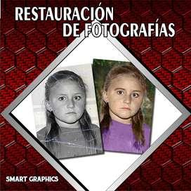 RESTAURACIÓN DE FOTOGRAFÍAS  RETOQUE PHOTOSHOP FOTOS ANTIGUAS DISEÑO GRAFICO PUBLICIDAD PALMIRA CALI SMART GRAPHICS