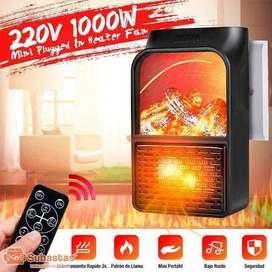 Calentador de aire eléctrico portátil 1000w.