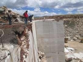 MARMOL TRAVERTINO TALCO CALCITA CAOLIN Y NO METALICO mina mineral
