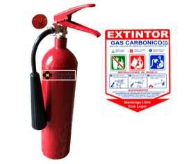 EXTINTOR CO2 5LB