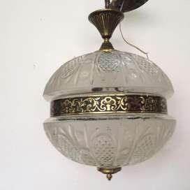lampara colgante antigua