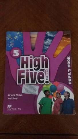 HIGH FIVE ENGLISH 5 PUPIL'S BOOK  MACMILLAN