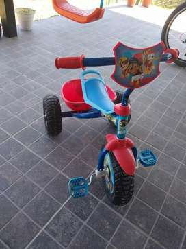 Triciclo paw patrol