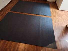 Remate de alfombras, por ocasión