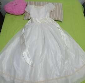 Vestido para primera comunión o terminación de primaria