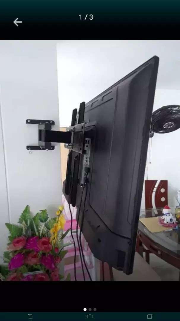 Bases con rotación y fijas para televisores
