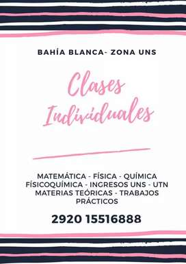 Clases individuales zona uns