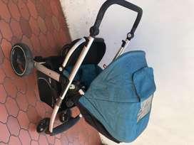 coche para bebé con silla para carro