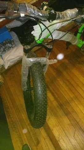 Bicicleta nueva de paquete