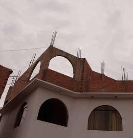 SE VENDE TERCER PISO EN CONSTRUCCIÓN