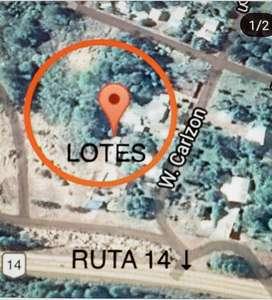 """Dueño vende terreno de 3000mts2 + 6 lotes de 472mts2. Ideal emprendimos nueva área  Aduanera Especial """" Polo Misiones"""""""