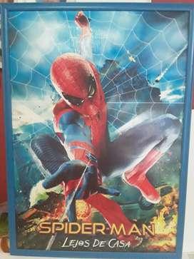 Cuadros de Spiderman, Frozen, Goku