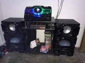 Equipo de sonido panasonic potente 5500