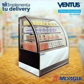 Vitrina Mantenedora Ventus VP-1000E3 NUEVA exhibidora refrigerada