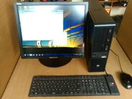 COMPUTADOR COMPLETO CORE 2 GB RAM DISCO DURO 320 GB WINDOWS 7