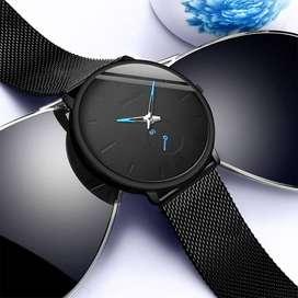 Reloj Negro-Azul
