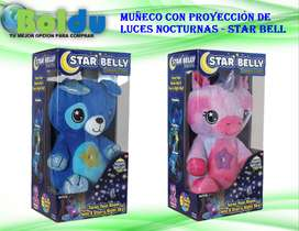 Muñeco Con Proyección De Luces Nocturnas - Star Bell