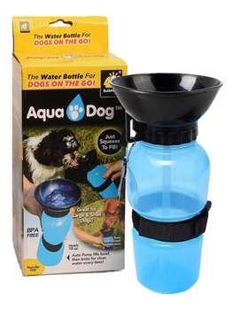 Botilito Bebedero Termo Portátil Agua Perros Aqua Dog