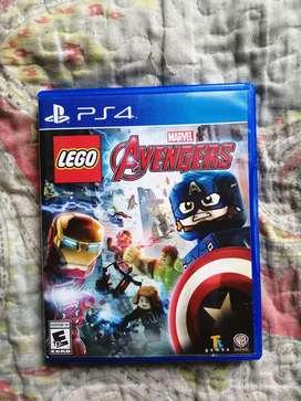 Vendo Lego Avengers Original ps4