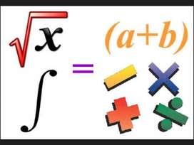 Ayudas en matemáticas, álgebra, geometría y trigonometría.