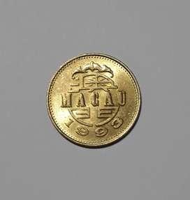 Moneda de Macao, 1993, 50 avos, XF