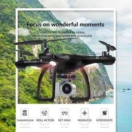 Drone wifi camara 2 mpx HD fpv Hj14 sensores HJjRC upgrade altura estable