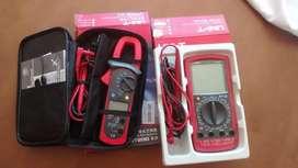 Tester multimetro UNIT UT58d pinza amperometrica UT200